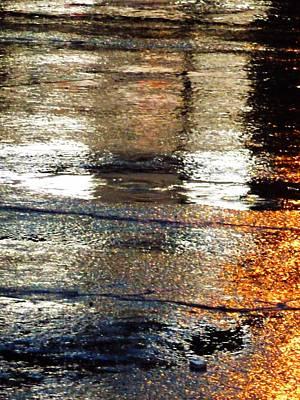 Street Reflections 2 Art Print