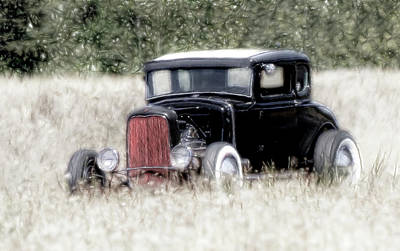 Photograph - Street Rod Art II by Athena Mckinzie