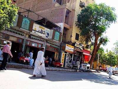 Photograph - Street Scene Egypt by Debbie Oppermann