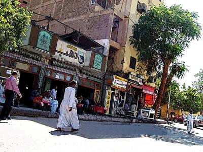 Photograph - Street Scene Egypt I by Debbie Oppermann