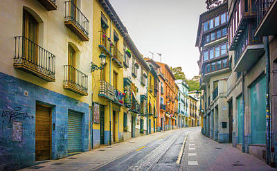 Photograph - Street Scene Granada by Gary Gillette