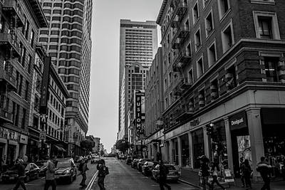 Photograph - Street Scene, Nyc by Lora Lee Chapman