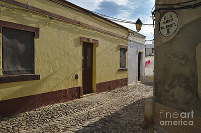 Portuguese Photograph - Street Scene Of Loule Old Town In Portugal by Angelo DeVal