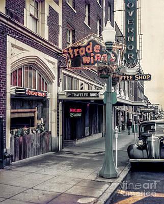 Photograph - Street Scene Olympia by Vibert Jeffers