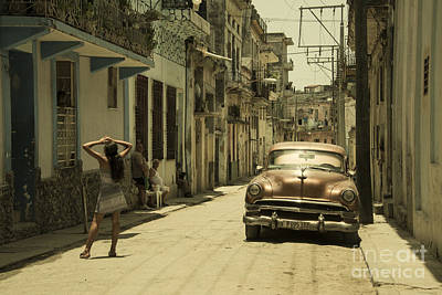 Senorita Photograph - Street Senorita by Rob Hawkins