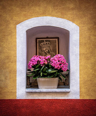 Photograph - Street Shrine In Vernazza by Carolyn Derstine