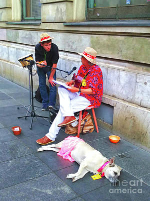 Photograph - Street Singers by Jasna Dragun