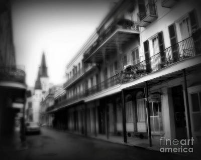 St Charles Photograph - Street To Jackson Square by Perry Webster