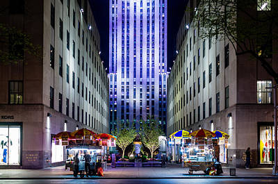 Photograph - Rockefeller Center by M G Whittingham