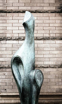 Photograph - Street Walker Sculpture 2 by Marilyn Hunt