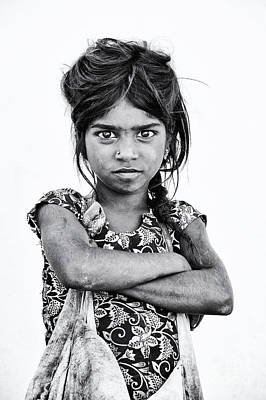 Child Photograph - Street Wise by Tim Gainey