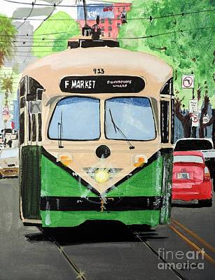 Painting - Streetcar Not Named Desire by Tom Riggs