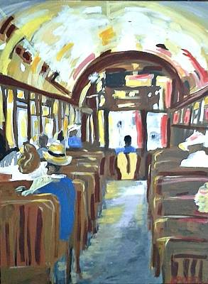 Painting - Streetcar Of Next by Kerin Beard