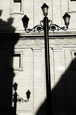 Photograph - Streetlights Shadow by Andrea Mazzocchetti
