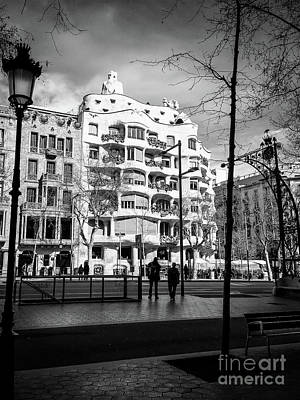 Photograph - Streets Of Barcelona by Colleen Kammerer