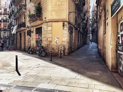 Photograph - Streets Of Barcelona  by Cristina Cristo