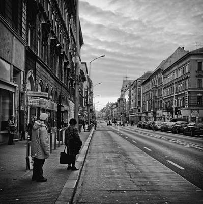 Streets Of Budapest Art Print