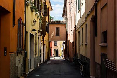 Photograph - Streets Of Cesena 10 by Andrea Mazzocchetti
