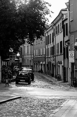Modern Sophistication Beaches And Waves - Streets of Cesena 12 by AM FineArtPrints