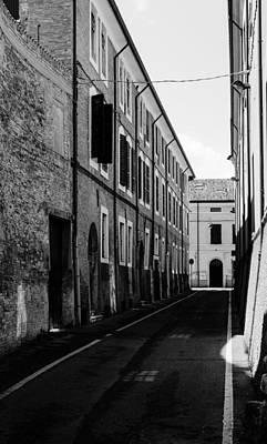 Photograph - Streets Of Cesena 17 by Andrea Mazzocchetti