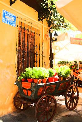 Crete Digital Art - Streets Of Chania by Alex Antoine