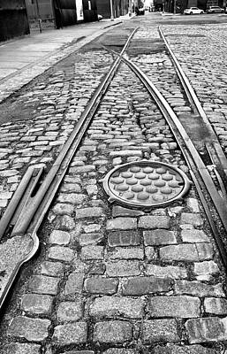 Photograph - Streets Of Cobble Stone 2 by Cate Franklyn