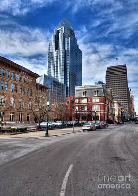Photograph - Streets Of Downtown Cincinnati by Mel Steinhauer