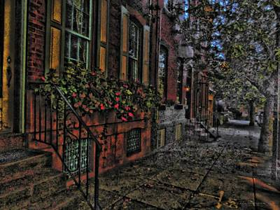 Digital Art - Streets Of Fairmont by Vince Green