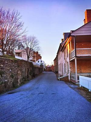 Photograph - Streets Of Harpers Ferry by Chris Montcalmo
