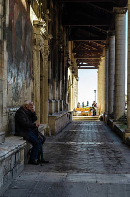 Photograph - Streets Of Italy - Guardiagrele 5 by Andrea Mazzocchetti