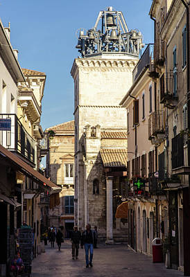 Photograph - Streets Of Italy - Guardiagrele 7 by Andrea Mazzocchetti