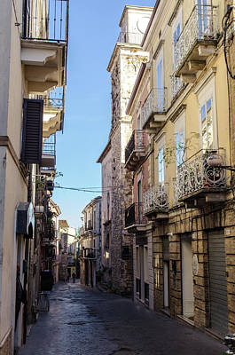 Photograph - Streets Of Italy - Guardiagrele 9 by Andrea Mazzocchetti