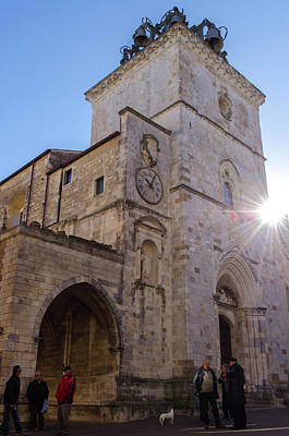 Photograph - Streets Of Italy - Guardiagrele Cathedral 2 by Andrea Mazzocchetti