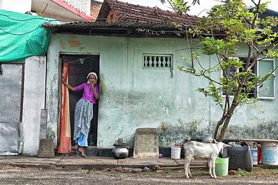 Photograph - Streets Of Kochi by Marion Galt