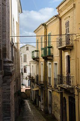 Photograph - Streets Of Lanciano  by Andrea Mazzocchetti
