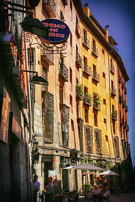Madrid Photograph - Streets Of Madrid Spain by Carol Japp