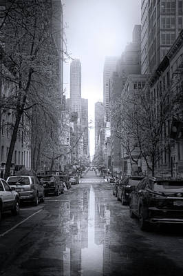Photograph - Streets Of Manhattan by Mark Andrew Thomas