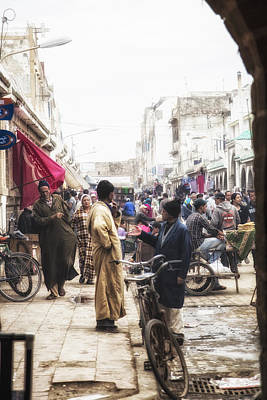 Photograph - Streets Of Morocco by Kathy Adams Clark