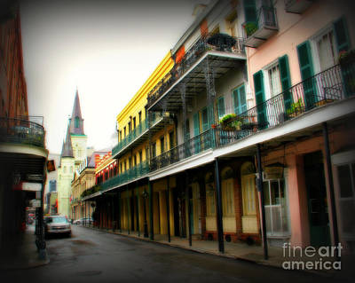 St Charles Photograph - Streets Of New Orleans by Perry Webster
