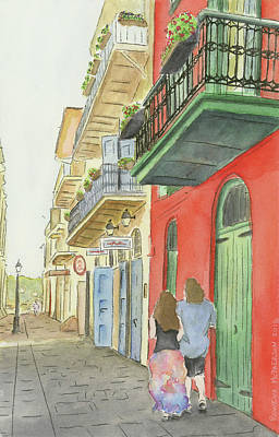 Painting - Streets Of Nola by Rowena McPherson