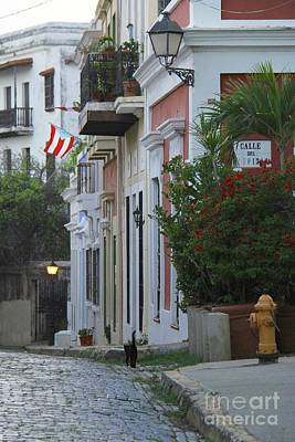 Photograph - Streets Of Old San Juan by Suzanne Oesterling