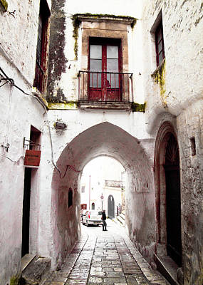 Photograph - Streets Of Ostuni by Steven Myers