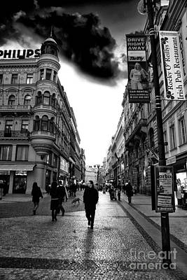 Photograph - Streets Of Prague by John Rizzuto