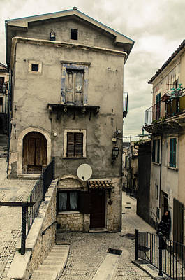 Photograph - Streets Of Pretoro - A Journey In Italy  by Andrea Mazzocchetti