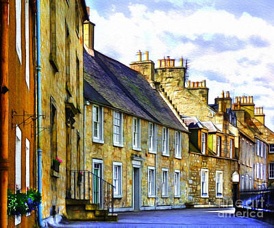 Photograph - Streets Of Queensferry by Judi Bagwell