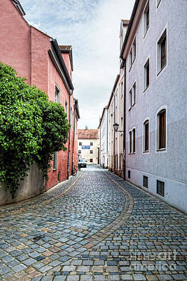 Streets Of Regensburg_6328 Art Print