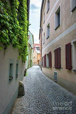 Streets Of Regensburg_6332 Art Print