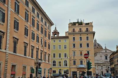 Photograph - Streets Of Roma by JAMART Photography