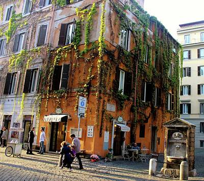 Photograph - Streets Of Rome by Janice Aponte