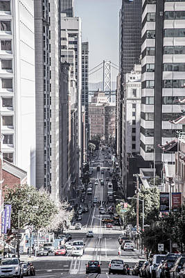 Photograph - Streets Of San Francisco #2 by Moshe Levis